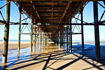 View from under the pier by inkedsandra
