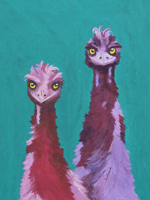 Emu Watch by Margaret Saheed