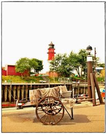Am Fischerhafen von Yvonne Reuter