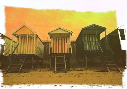 Beach-huts-texture