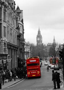 London Bus by John Biggadike