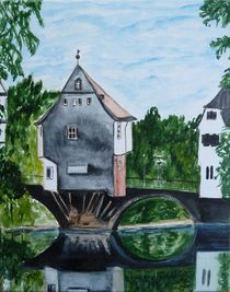 'Bad Kreuznach (Brückenhäuser)' von Christine Huwer