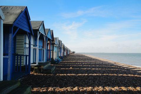 Beach-huts-kent