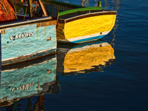 Boat Reflections von John Hare