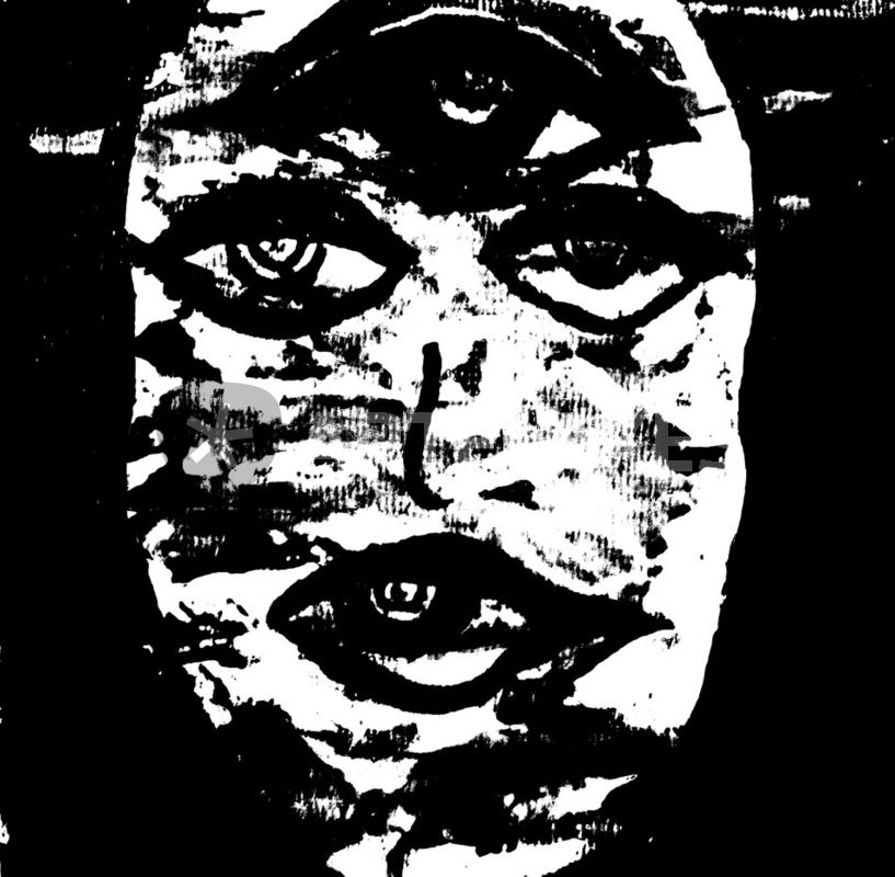 Die kleine Medusa schwarz weiß