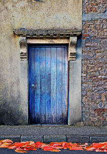 Chapel Door by Nigel  Bangert