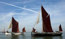 Maldon Barge Match 2010 von Howard Corlett