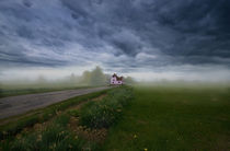 Pink Cottage von Nigel  Bangert