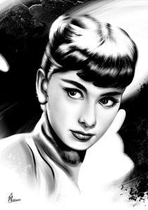 Audrey Hepburn by Maciej  Zumirski