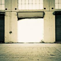 Open gate von Lars Hallstrom