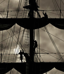 Three sailors von Lars Hallstrom