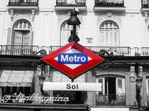 Metro Sol Madrid von Nils Volkmer