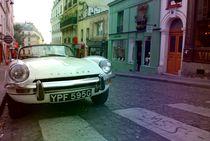 Auto auf parieser Straße von Josephine Brücher