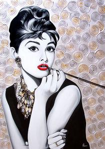 Audrey (platinum version) von Maciej  Zumirski