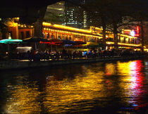 River Night Life by © CK Caldwell