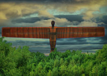 Angel-of-the-north-sky-added