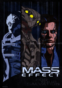 Mass Effect: antagonists by Anna Khlystova