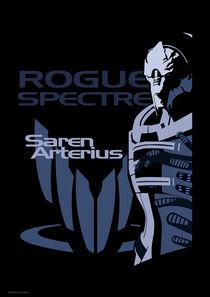 Mass Effect: Saren Arterius by Anna Khlystova