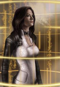 Mass Effect 2: Miranda Lawson by Anna Khlystova