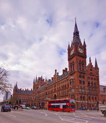 St Pancras International Station by David J French