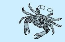 Blue Crab three von Casey Virata