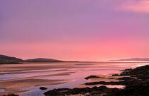 Pink Hebridean Sunset von Jacqi Elmslie