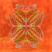Ornament Orange von claudiag