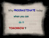 Procrastination von Graham Prentice