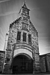 Carron Works, Clock tower. Falkirk.  by Buster Brown Photography