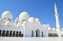 Sheikh Zayed Mosque in Abu Dhabi, United Arab Emirates von tkdesign