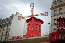 Moulin rouge, Paris by Tanja Krstevska