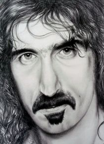 Frank Zappa by Rob Delves
