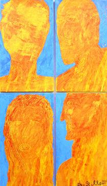 vier Geister von Jan Siebert