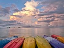 Morning Sea by Helga Sevecke