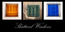 traditional shuttered windows von meirion matthias