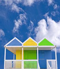 beach huts by meirion matthias