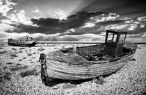 abandoned trawlers at dungeness von meirion matthias