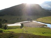 Fluss mit Sonne von dalmore