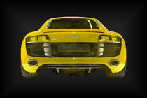 Audi R8 gelb (1er) by dalmore