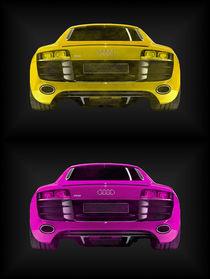Audi R8 gelb pink (2er) von dalmore