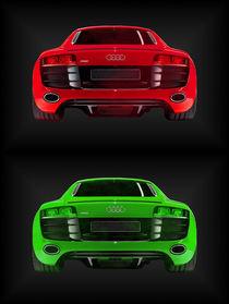 Audi R8 rot grün (2er) von dalmore