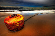 stormy buoy by meirion matthias