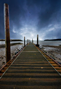 the jetty at rhos-on-sea by meirion matthias