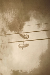 Shoefiti by Nigel  Bangert