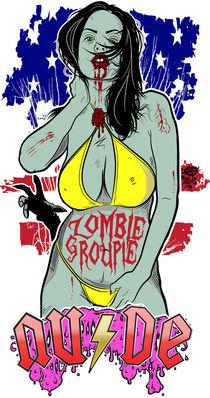 Zombie Groupie V2 by Neil Hyde