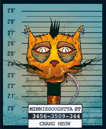 Animal Mugshot - Mr.C von Filip Zywica