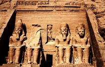The Great Temple at Abu Simbel von Armend Kabashi