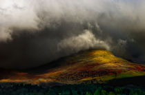 storm approaching hawkshead by meirion matthias