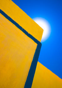 abstract yellow and blue von meirion matthias