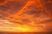 fiery sunset von Craig Lapsley